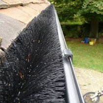 Leaf Guards V Gutter Guard Bottle Brush Gutter Cleaning